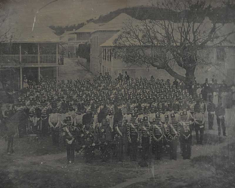 26th (The Cameronians) Regiment at Gibraltar, c1851