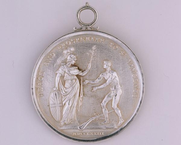 Carib War Medal, 1773