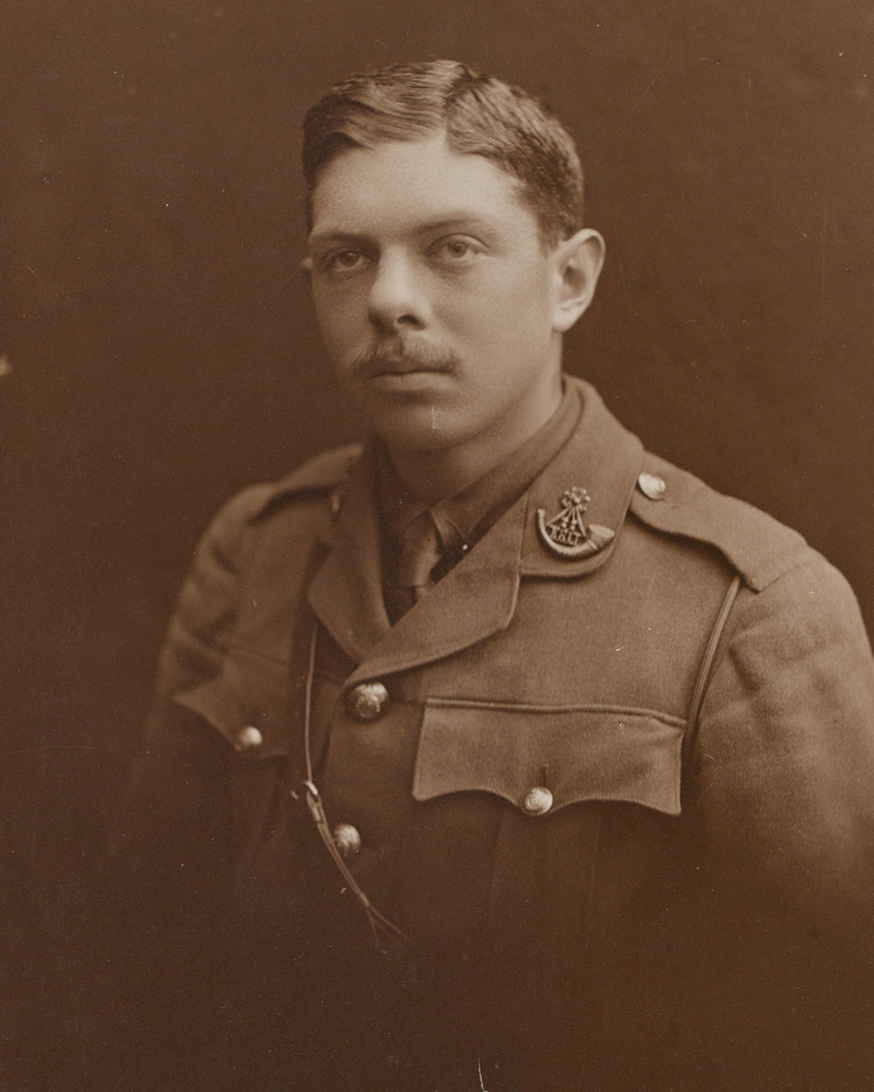Second Lieutenant Louis Dell, 7th (Service) Battalion, The King's (Shropshire Light Infantry), 1915