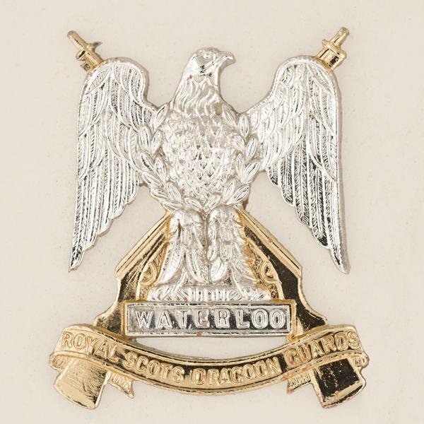 Badge, The Royal Scots Dragoon Guards (Carabiniers and Greys), 1971