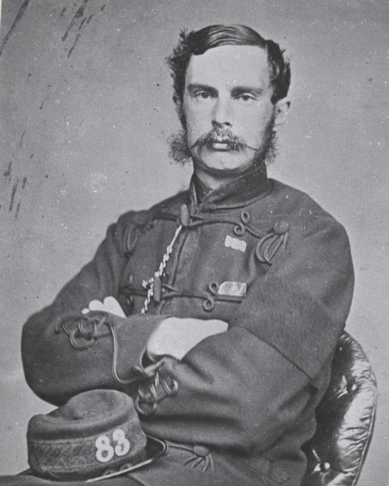 Captain G G Beazley, 83rd (County of Dublin) Regiment, c1862