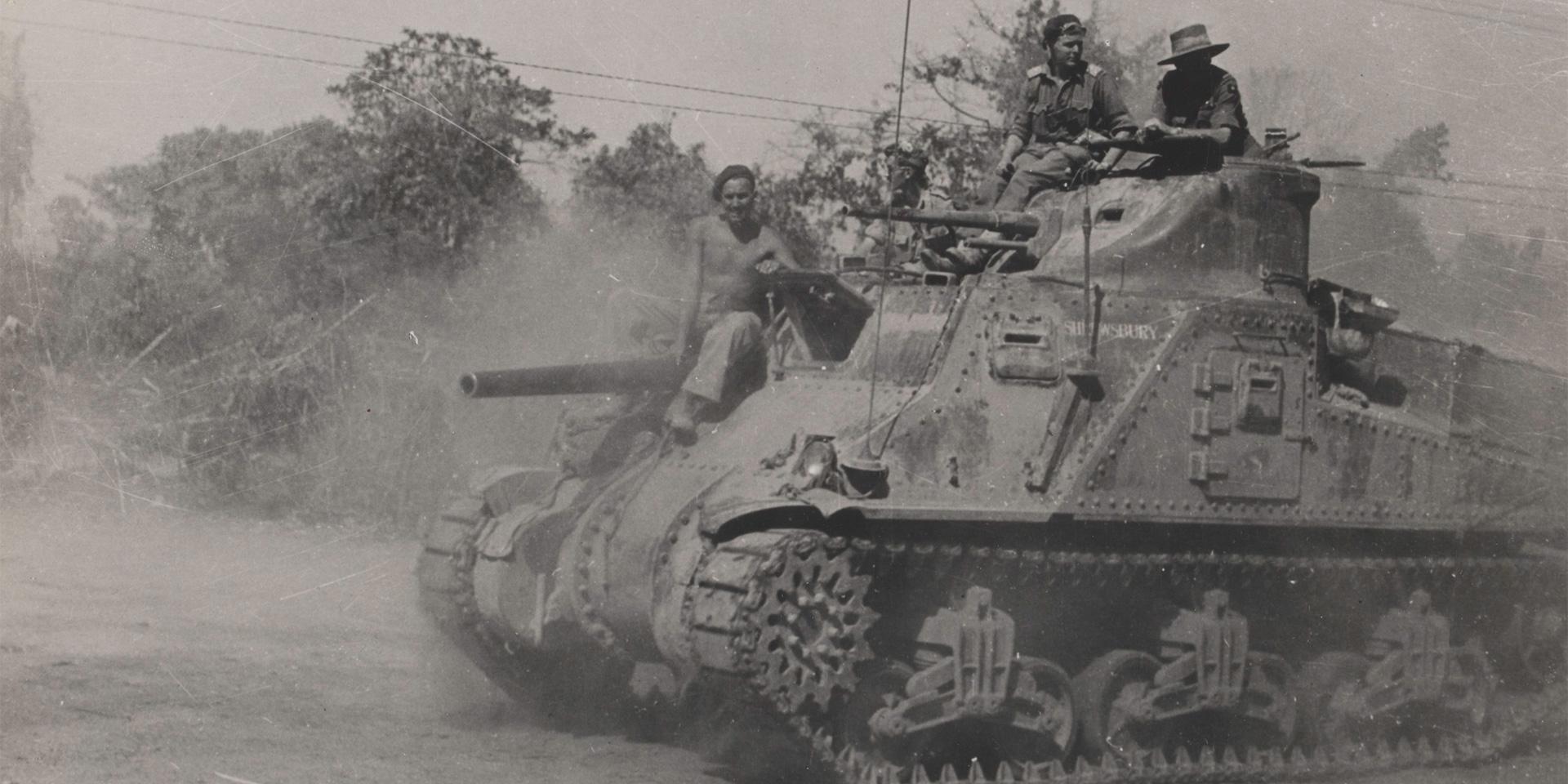 M3 General Lee tank, 25th Dragoons, Kohima, June 1944