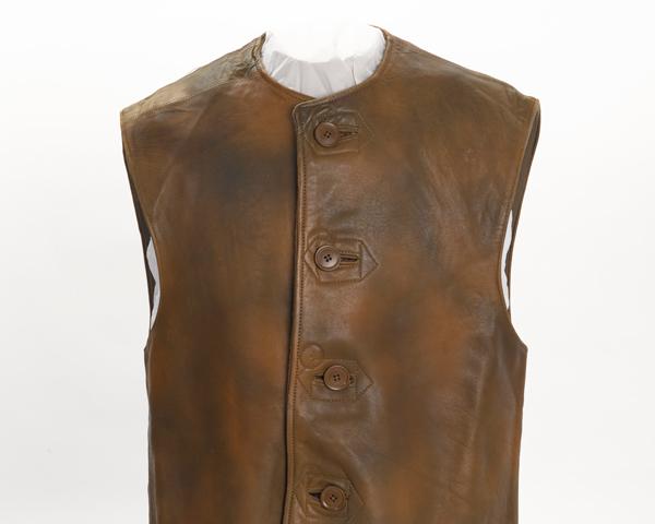 Jerkin worn by Lieutenant R Parkin-Ashton, RAVC, c1941
