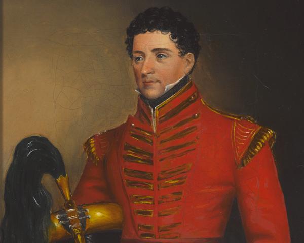 Captain Charles de Beauvoir Chepmell, 53rd Regiment, c1829
