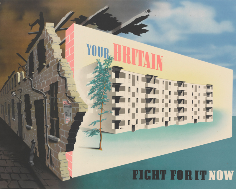 'Your Britain. Fight for It Now' poster by Abram Games, 1942