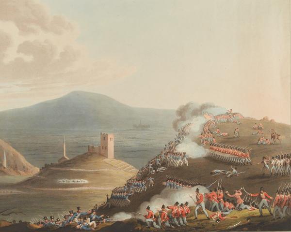 The Battle of Castella in Valencia, 13 April 1813