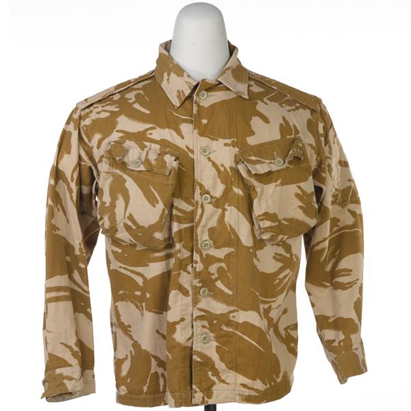 Desert jacket worn by Major M Graham during the Gulf War, c1990