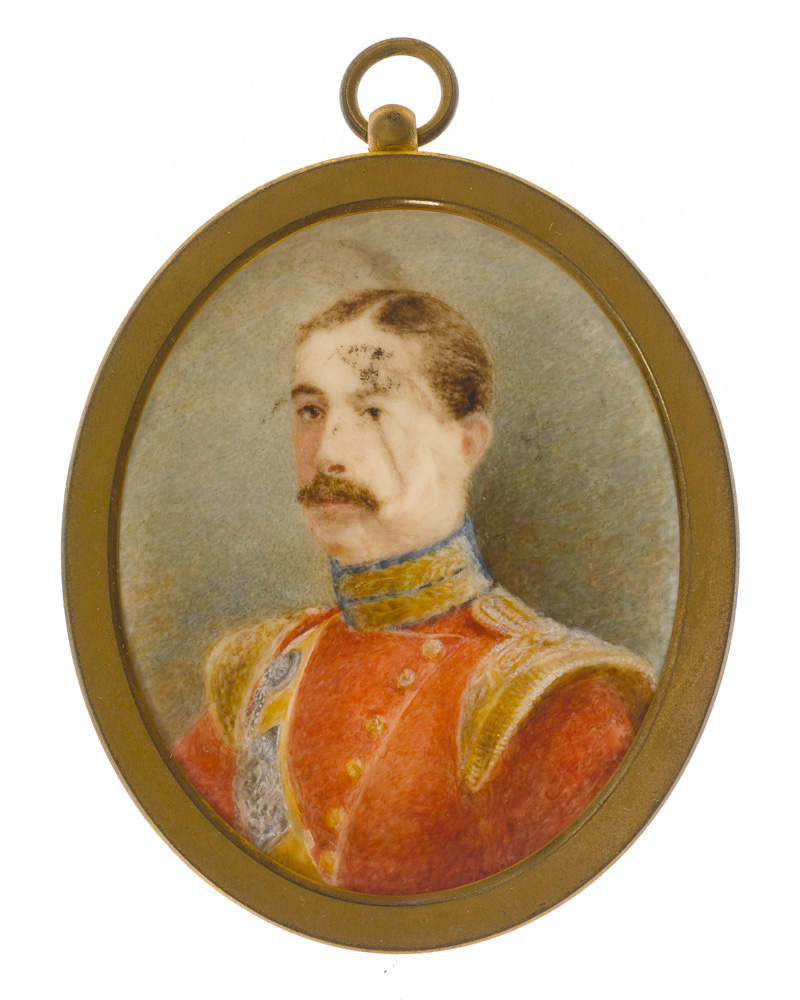 An officer of the 85th (Bucks Volunteers) King's Light Infantry, c1848