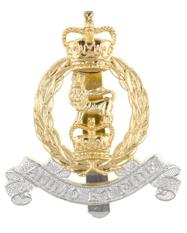 Cap badge, Adjutant General's Corps, c1992