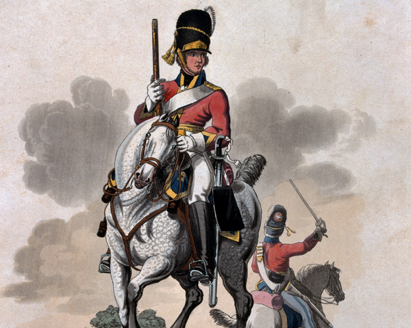 A soldier of the 2nd (Royal North British) Dragoons, 1812