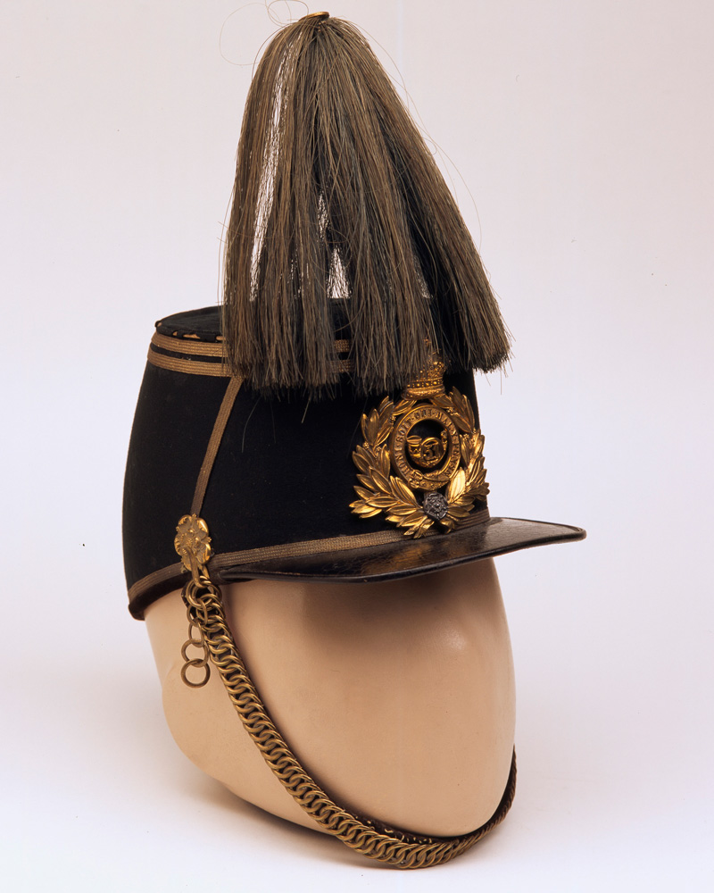 Shako, 51st (2nd Yorkshire West Riding) or The King's Own Light Infantry, c1870