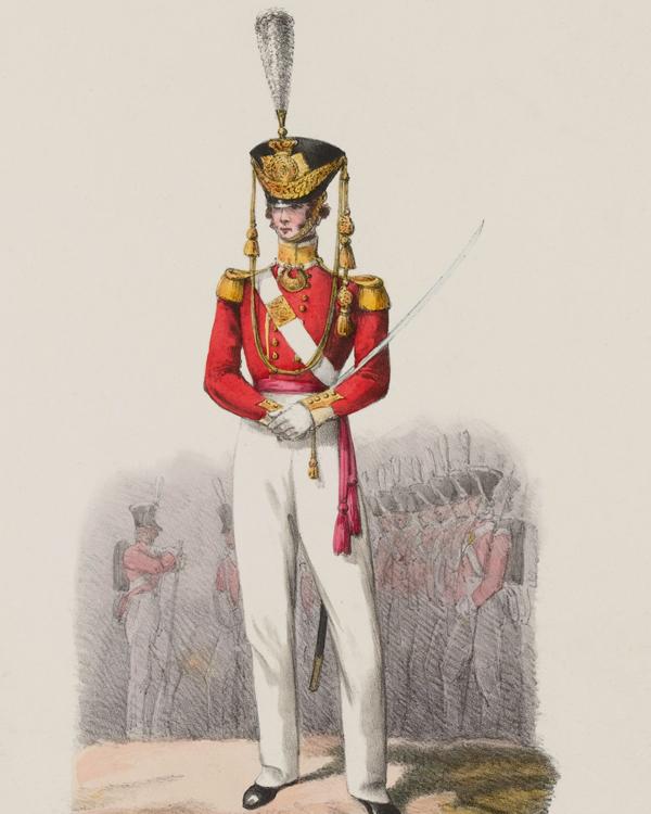 An officer of the 83rd Regiment, 1828