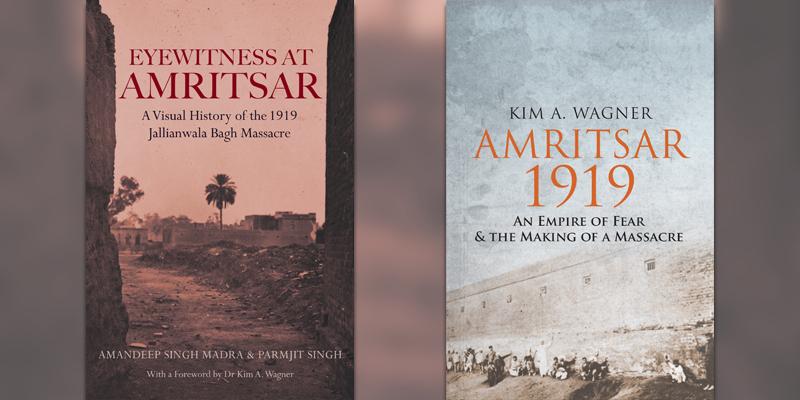 Amritsar Massacre book covers