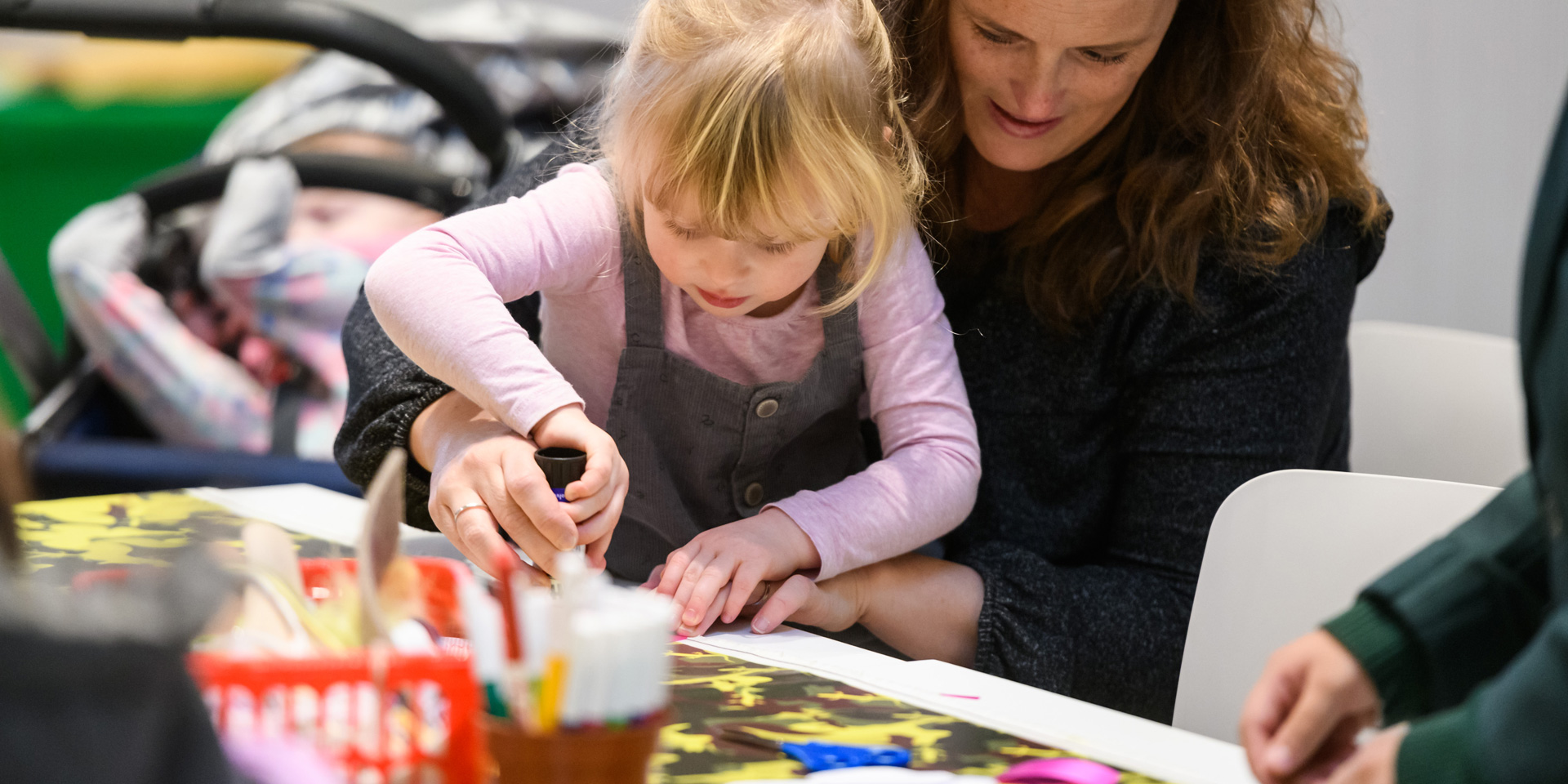 Craft activities at the National Army Museum