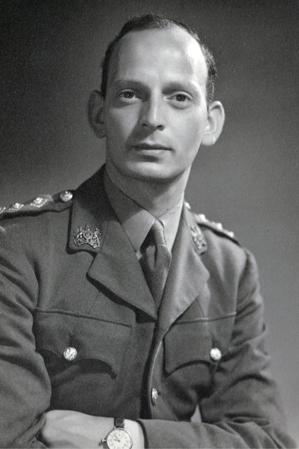Captain Abram Games, c1945