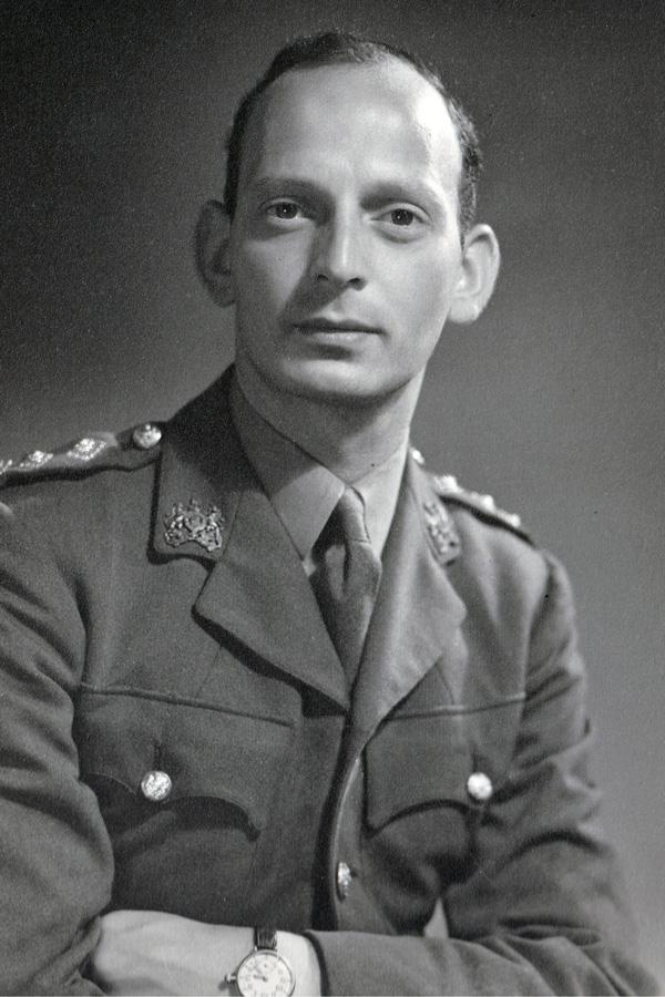 Captain Abram Games, c1945