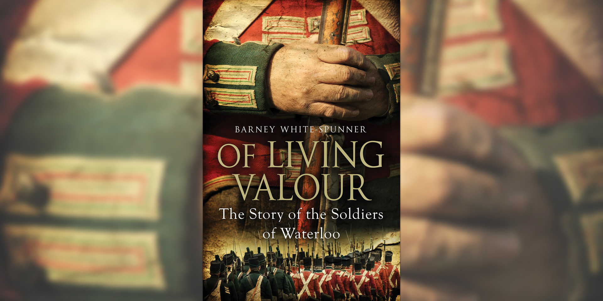 'Of Living Valour' book cover