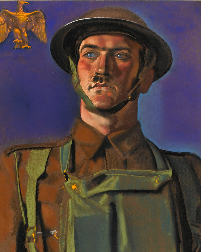 Sergeant-Major A F Sutton DCM, The Essex Regiment, 1942