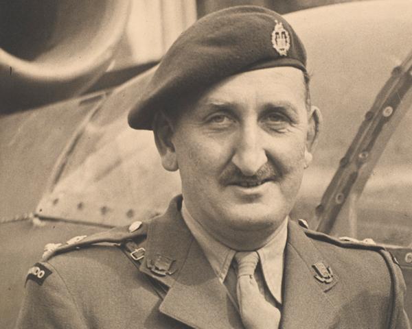 Lieutenant-Colonel August Newman VC, c1945