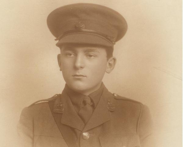 Captain Alan Bowles, 2nd Battalion The Princess Charlotte of Wales's (Royal Berkshire Regiment), c1915