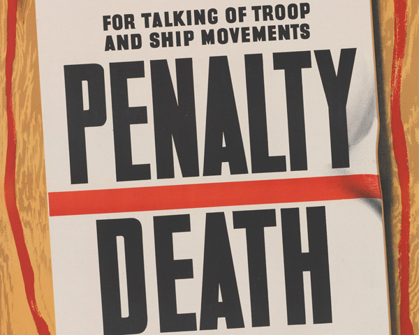 Penalty for disregarding D-Day secrecy: Death for your comrades