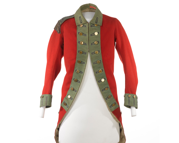 Officers coatee, 49th Regiment of Foot, c1770