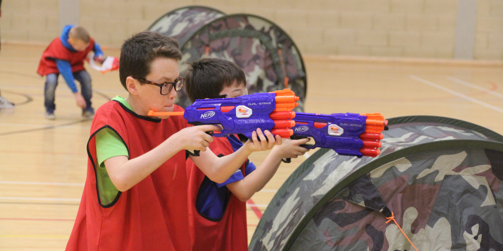 'Target practice: Nerf guns' workshop
