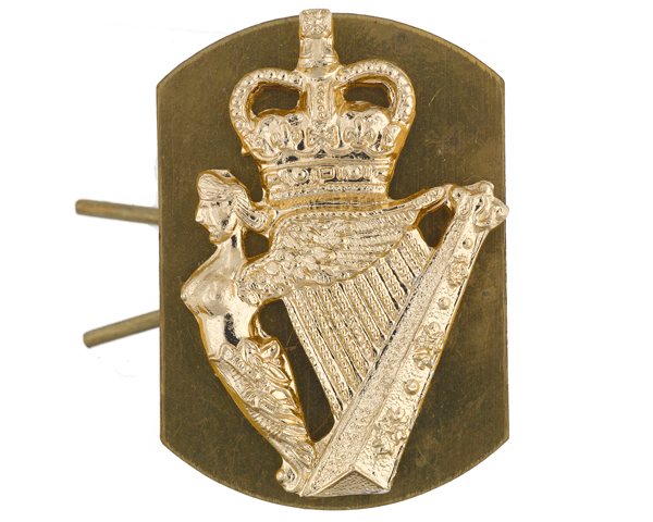 Collar badge of The Ulster Defence Regiment, c1970