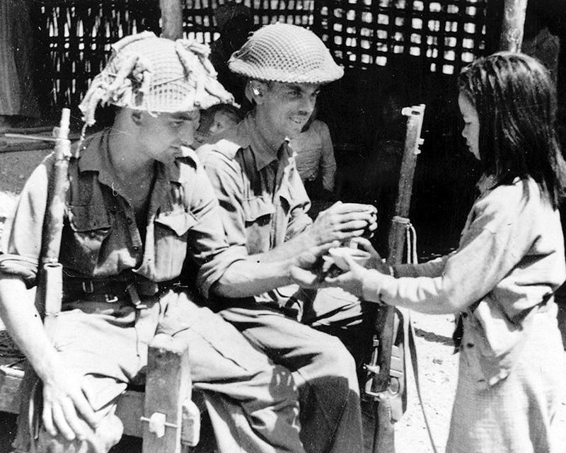 2nd Battalion, The Royal Berkshire Regiment, Burma, 1945