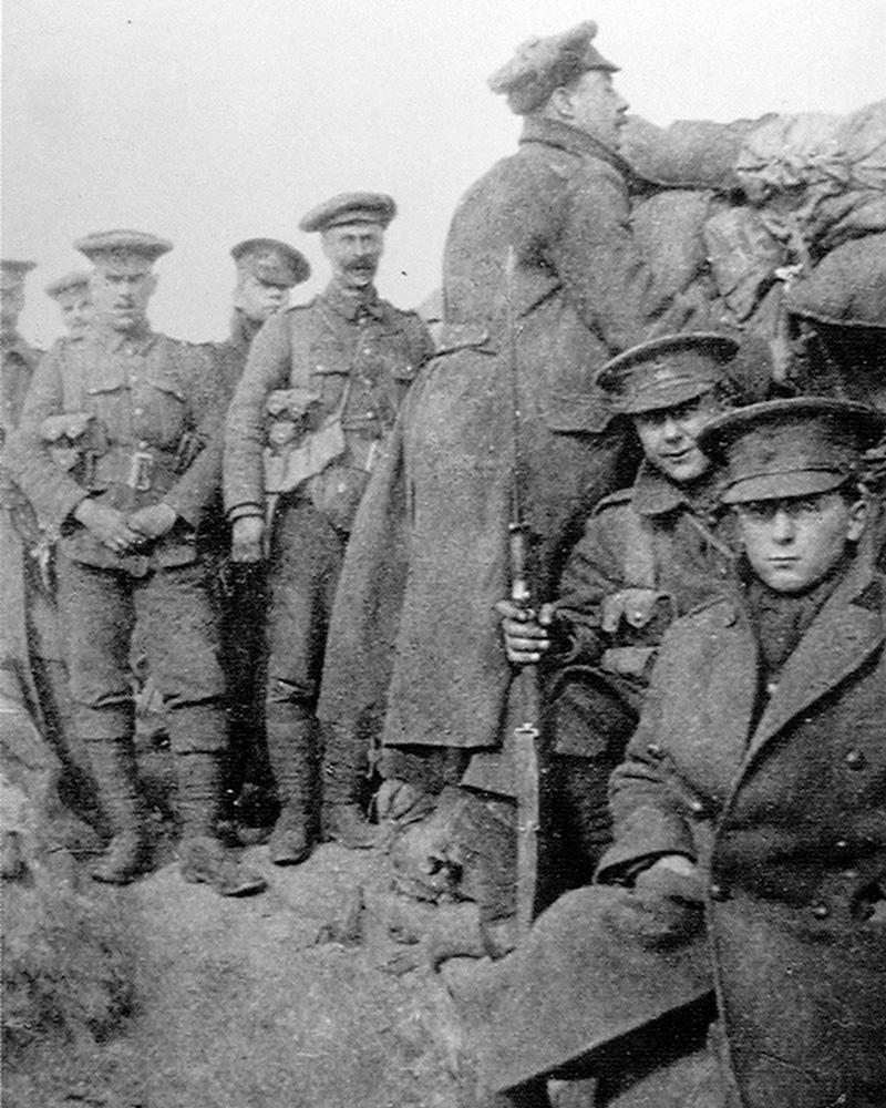 Members of the 2nd Royal Berkshire Regiment, c1915