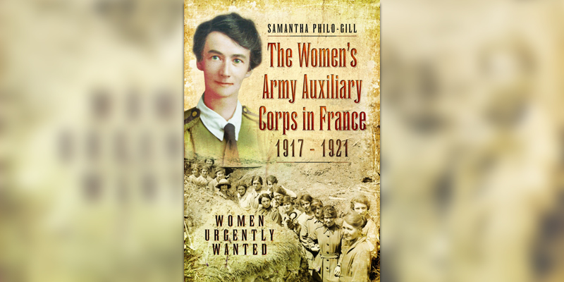 'The Women's Army Auxiliary Corps in France' book cover