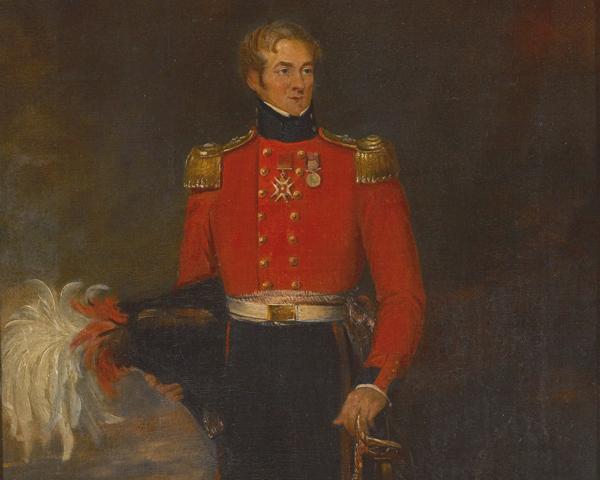 Colonel Sir Richard Llewellyn, 28th Regiment of Foot, c1835
