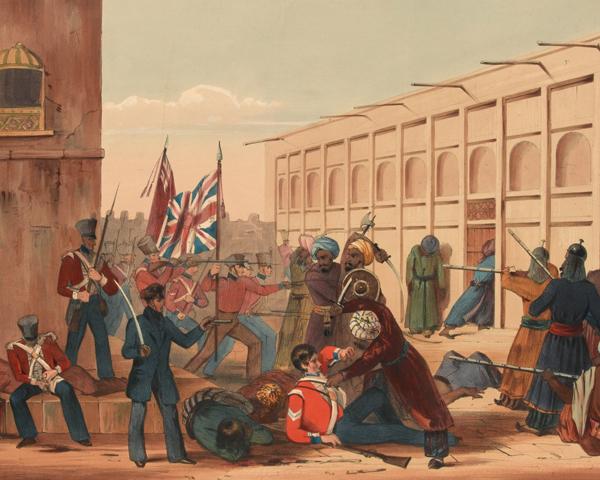 The storming of Khelat, November 1839