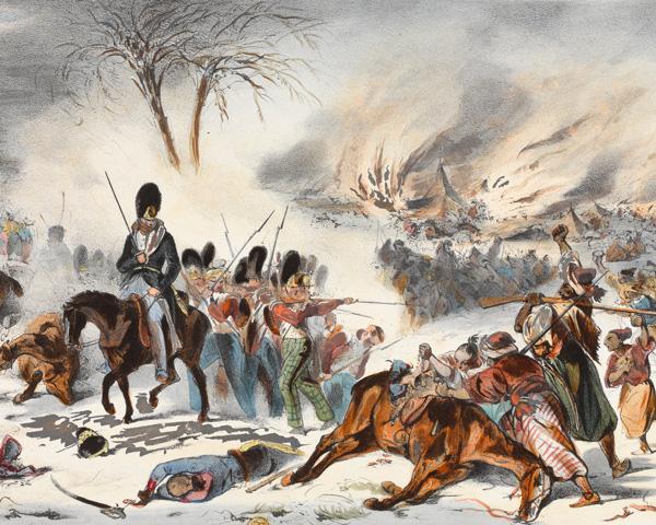 The Retreat from Kabul, January 1842