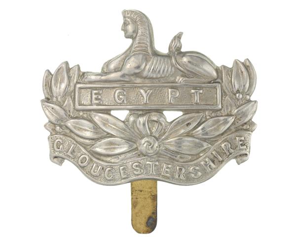 Cap badge, The Gloucestershire Regiment, c1930