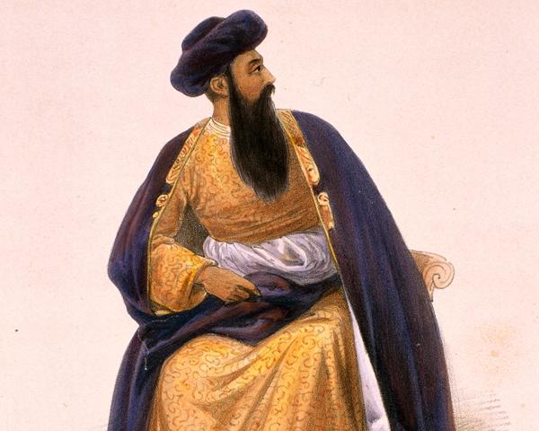 Emir Shah Shuja-ul-Mulk, c1840