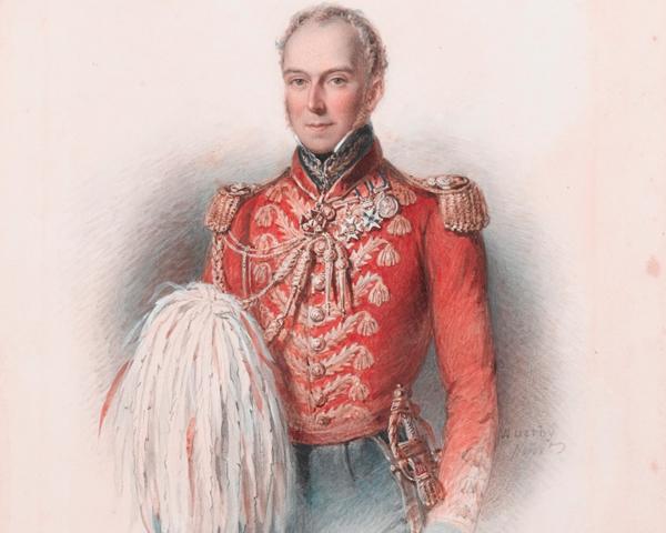Major-General William Elphinstone, c1837