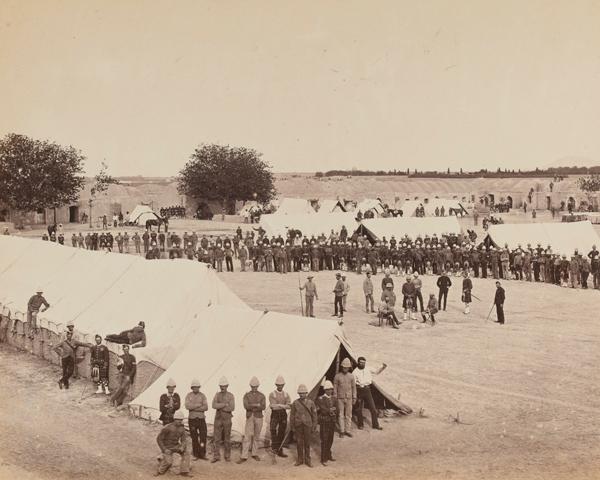 The 78th Highlanders at Kandahar, 1880