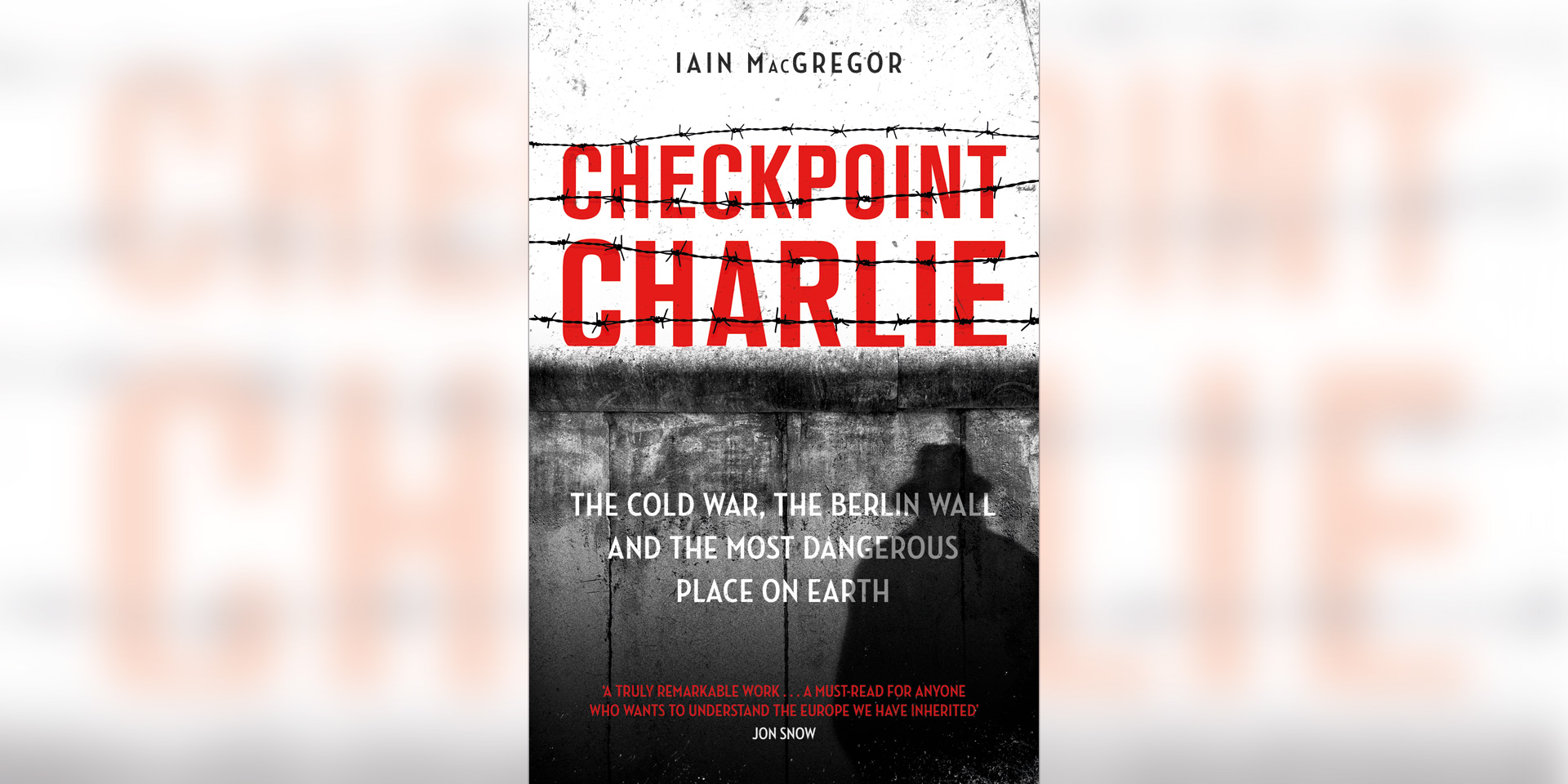 'Checkpoint Charlie' book cover