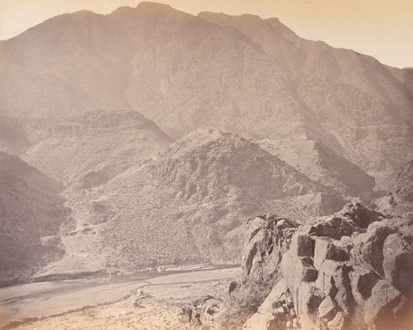 Ali Masjid fortress in the Khyber Pass, 1878