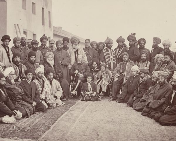 General Fredrick Roberts and Sirdars of Kabul, 1879