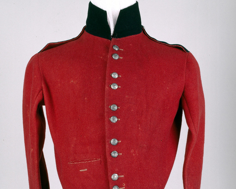 Shell jacket, 13th (1st Somersetshire) Regiment of Foot (Prince Albert's Light Infantry), c1848