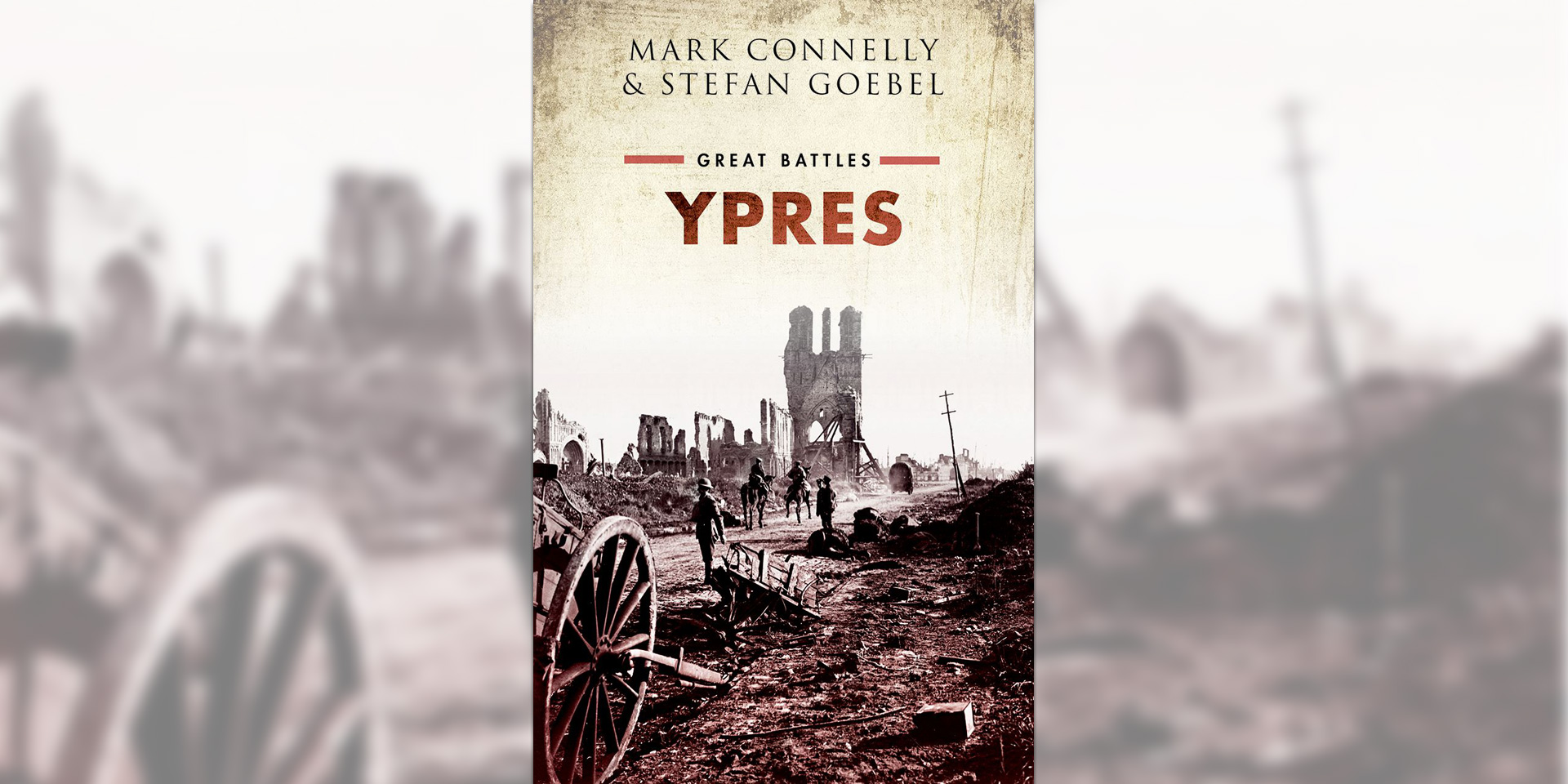 'Great Battles series: Ypres' book cover