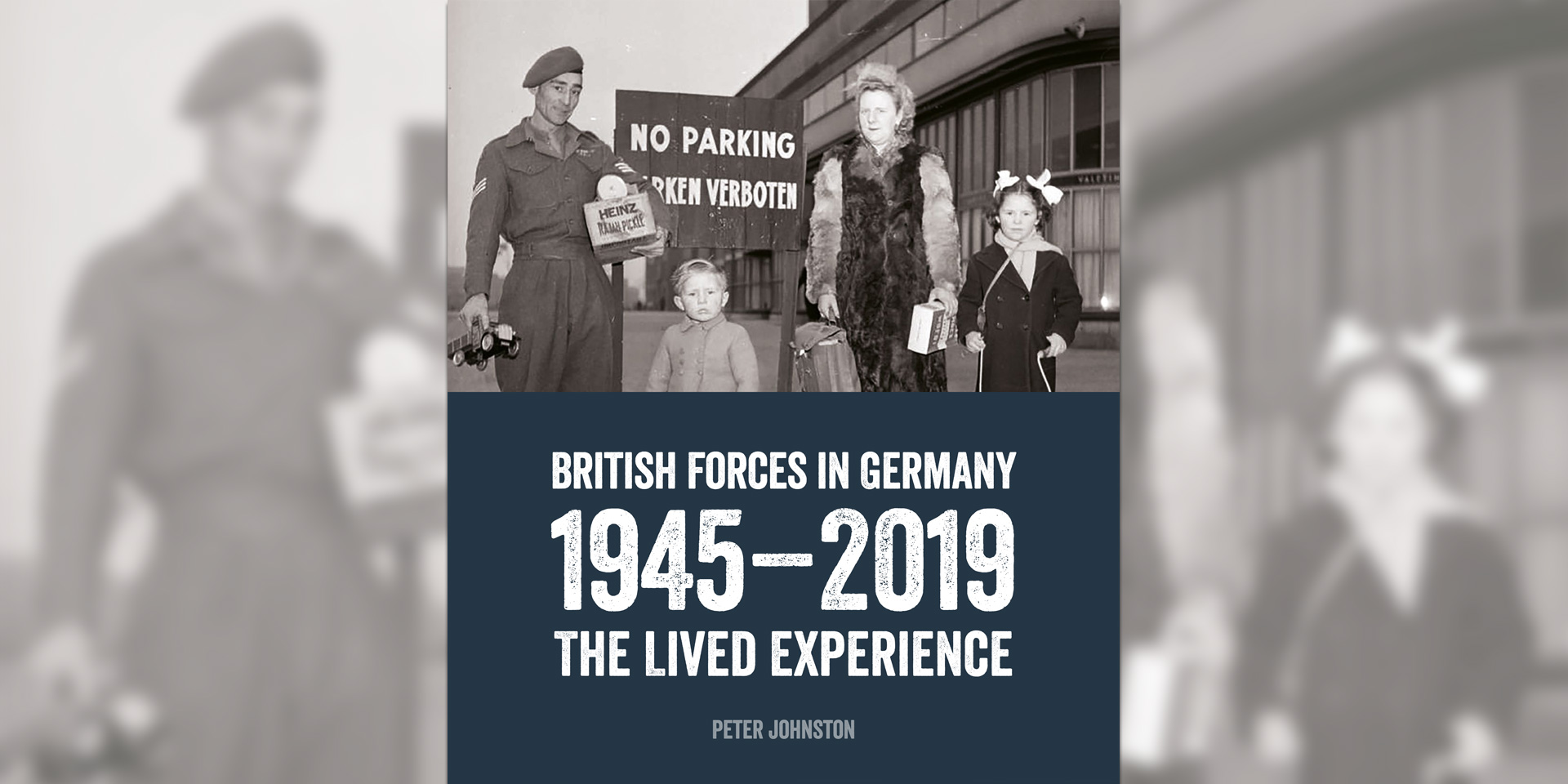 'British Forces in Germany: 1945-2019' book cover