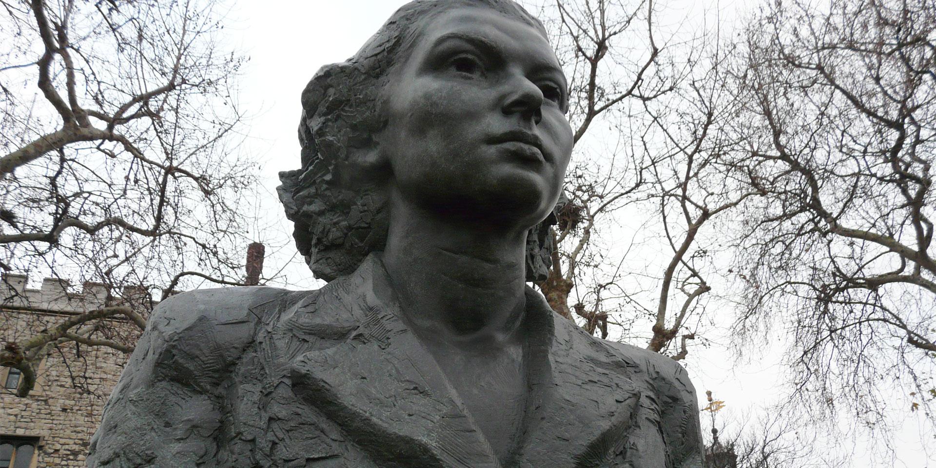 Violette Szabo, SOE Memorial, London, 2009