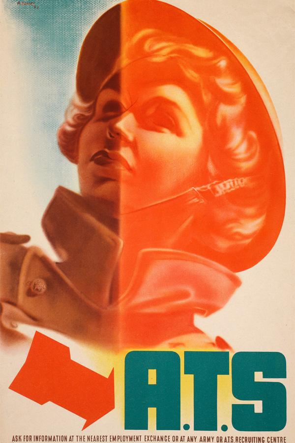'ATS', recruiting poster, 1942