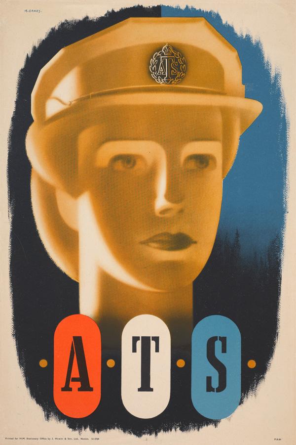 'ATS', recruiting poster, 1944