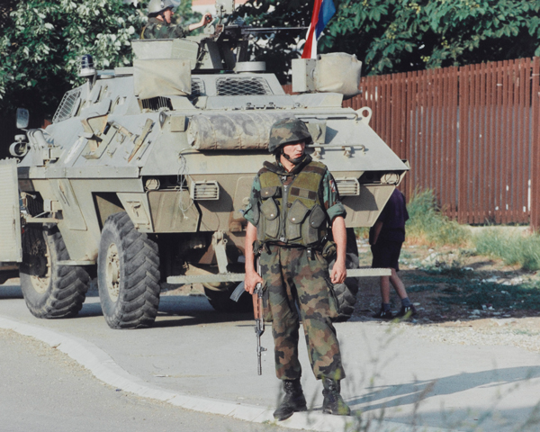 Serbian forces in Kosovo, 1999