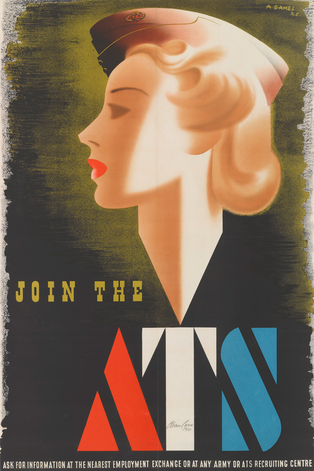 'Join the ATS', recruiting poster, 1941