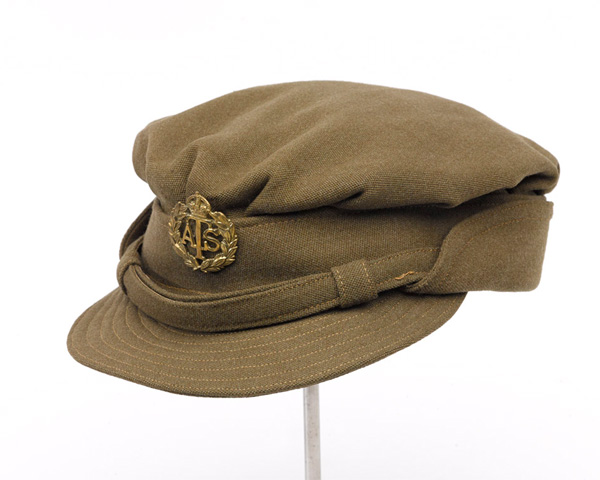 Forage cap, ATS, c1942